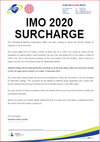 IMO 2020 SURCHARGE NOTICE